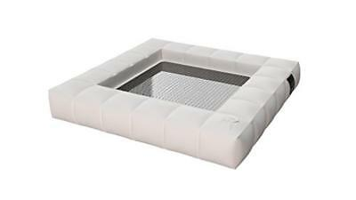 (TG. 130x130x18 cm) Pigro Felice 921991-MWHITE Modul'Air Luxury Inflatable Singl