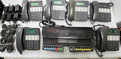 Bizfon 680 Business Phone System + 8 Biztouch3 phones, Fully Functional