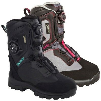 Klim Women's Gore-Tex Insulated Aurora GTX BOA Boot - Black or Dark Gray
