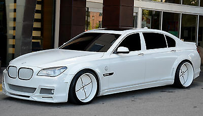 2012 BMW 7-Series Custom, Wide-Body, Extremely Low Mileage, Forgiato Wheels 2012 BMW 750LI, Custom, Wide-Body, Extremely Low Mileage, Forgiato Wheels