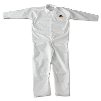 KleenGuard A20 Breathable Particle-Pro Coveralls Zip 2XL White 24/Carton