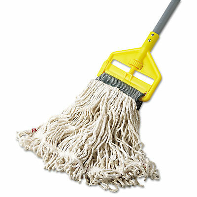 Rubbermaid Commercial Web Foot Wet Mop Cotton/Synthetic White Medium 5 inches