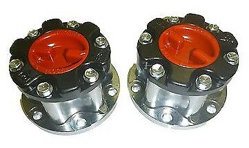Pair Free Wheeling Hubs suitable for Hilux 4wd IFS to 2004 LN111 LN167