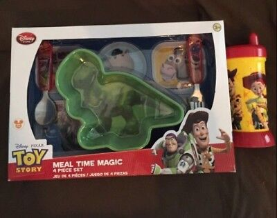 Toy Story 4 Piece Meal Set with Sippie Cup!