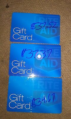 Rite Aid In Store Merchandise Credit gift card $171.02