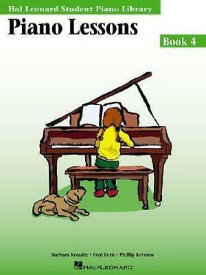 NEW Piano Lessons, Book 4 By Barbara Kreader Paperback Free Shipping