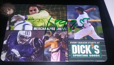 Dick's Sporting Goods gift card $159.85