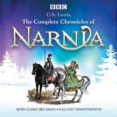 NEW The Complete Chronicles of Narnia By C. S. Lewis Audio CD Free Shipping