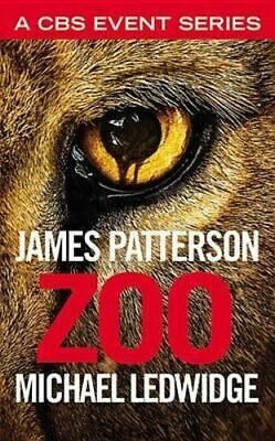 NEW Zoo By James Patterson Paperback Free Shipping