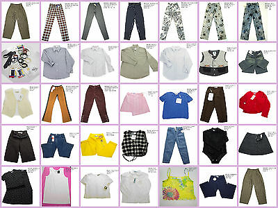 50Pcs Wholesale Resale Lot Boutique Boys Girls Kids Clothes Made in Italy France