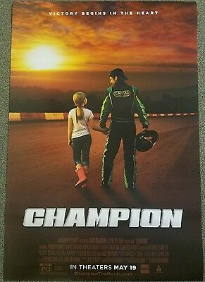 Champion 27x40 Double Sided Movie Theater Poster
