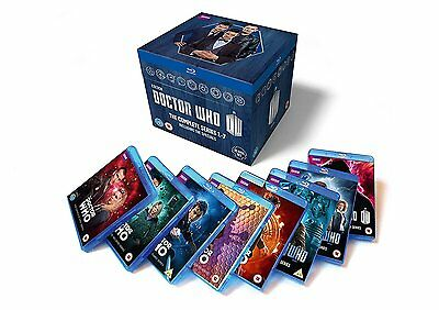 Doctor Who: The Complete Box Set - Series 1-7 [Blu-ray] New!!