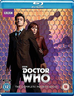 Doctor Who - The Complete Season 4 [Blu-ray] New!!