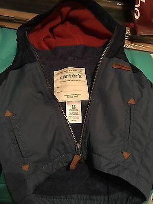 Carter's Baby Boys Jacket 12months In EUC