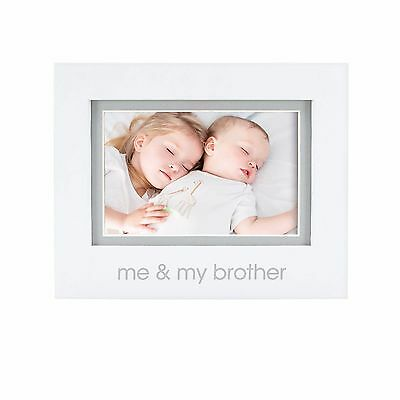 "4"" x 6"" Me And My Brother Tabletop Picture Frame Home Photo Display Holder Decor"