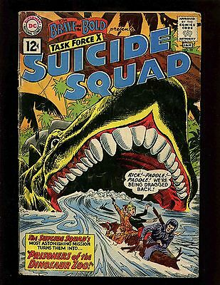 Brave and the Bold #39 VG- Andru Esposito 2nd Tryout for Suicide Squad Dinosaurs