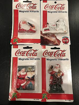 Lot Of Vintage Coca Cola Magnets. New In Package