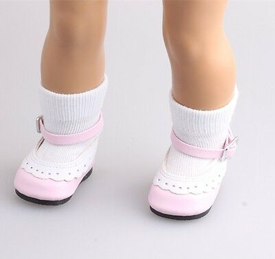 "free shipping dolls'  white socks for 18"" American Girl Doll  b496"