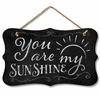 Chalk it Up Fancy Wood Sign---You Are My Sunshine--Small Plaque