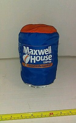 Vintage Maxwell House Coffee Can Promo Advertising Becomes Wind Breaker Jacket