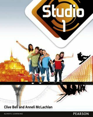 Studio 1 Pupil Book (11-14 French) by Anneli McLachlan 9780435026967
