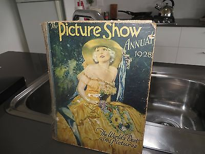 Vintage THE PICTURE SHOW ANNUAL Antique Collectable Photo Book 1928