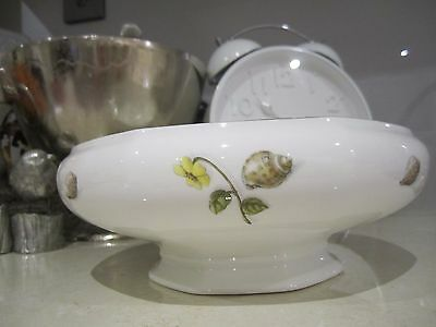 Aynsley Natures Delights Pedestal Bowl/dish Made in England