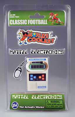 Worlds Coolest Mattel Electronics Football Worlds Coolest Toy