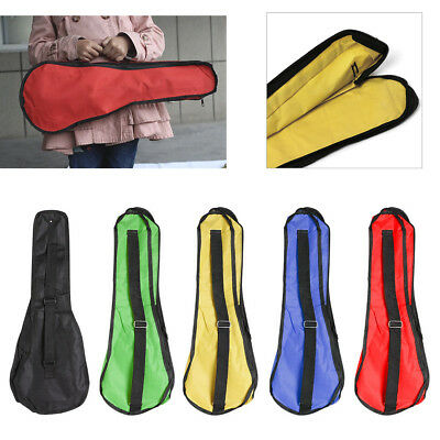 "Soft Nylon Backpack Shoulder Case Bag Protector for 21"" 23"" Ukulele Small Guitar"