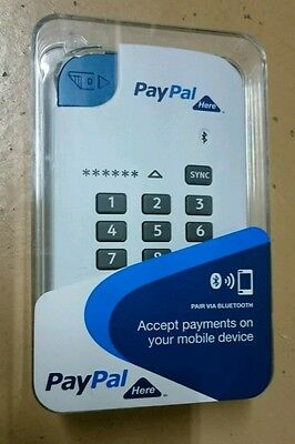 PayPal Here portable credit card swipe machine BRAND NEW