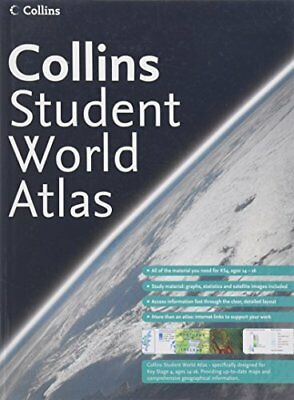 Collins Student Atlas by Not Known Hardback Book The Cheap Fast Free Post