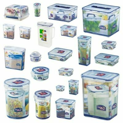 LOCK AND Lock Plastic Food Storage Containers Cake Lunch Box