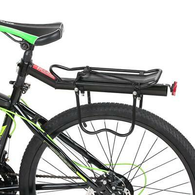Lixada Adjustable Bicycle Carrier Rack Aluminum Alloy Bike Rear Seat Post L7G0