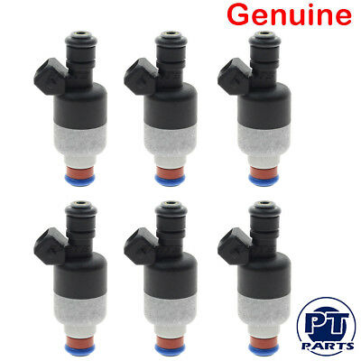 Genuine OEM Set Of 6 Fuel Injectors For Buick Chevy Oldsmobile 3.1L 3.4L 1710982