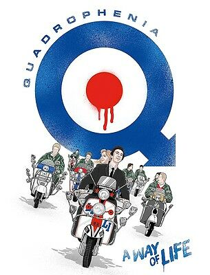 Music Poster Reprint Quadrophenia 2 A4 Photo Print