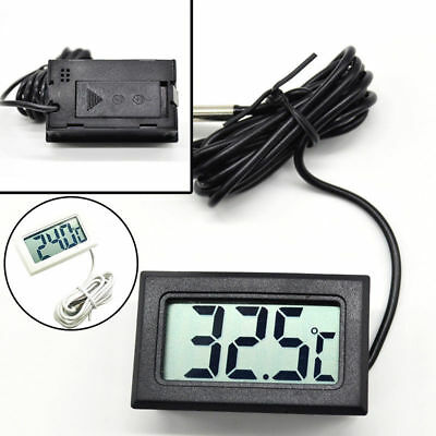 Universal Digital LCD Thermometers Meter Tester Temperature Gauge Mod With Probe