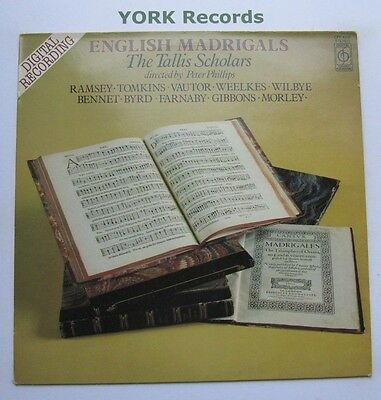CFP 4391 - ENGLISH MADRIGALS - The Tallis Scholars - Excellent Con LP Record