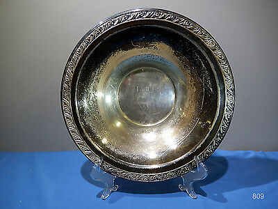 Silver Plate (?) Horse Show Trophy Bowl