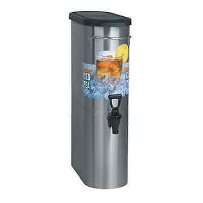 Bunn TDO-N-3.5 Gallon Narrow Oval Iced Tea Dispenser *WILL SHIP IN US*