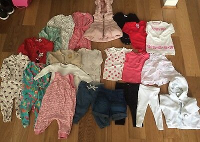 Baby Girls Bundle Size 3-6 Month Next Marks And Spencer Nutmeg