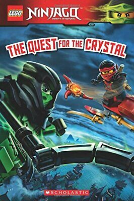 The Quest for the Crystal (Lego Ninjago) by Howard, Kate Book The Cheap Fast