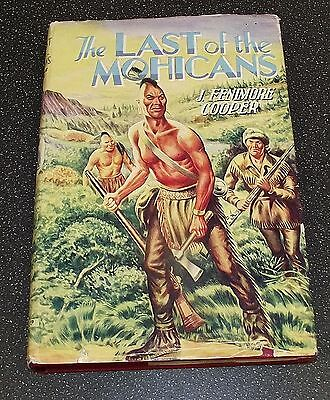 THE LAST OF THE MOHICANS J FENIMORE COOPER DEAN AND SON LTD 1950s