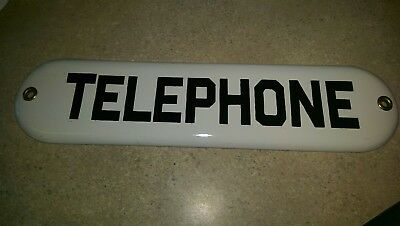 Telephone gas station sign 1940's