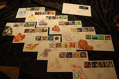 Collection of 12 2000 First Day Covers