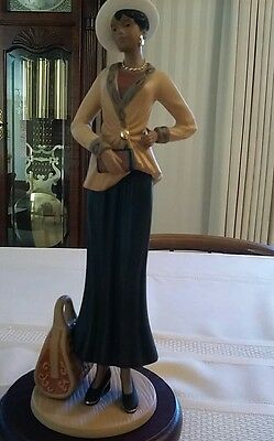 Home Interiors Vanessa #11771 Porcelain Figurine Virtually Flawless - Gorgeous!