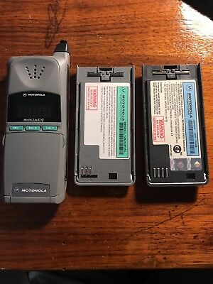 Vintage Motorola MicroTAC Lite XL Cellular Phone with Extra battery, no charger