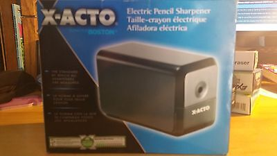 X-ACTO Desktop Electric Pencil Sharpener Black