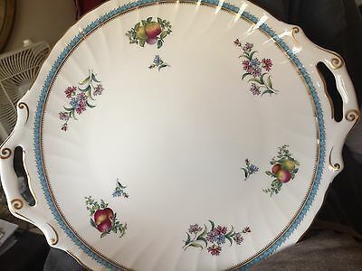 Pre-Owned Vintage Spode Bone China Dinner Tray Trapnell Pattern 11""