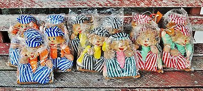 """Lot of 16 Clown On a String Marionettes 9.5"""""""