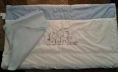 Boys*red Kite*cot Quilt 4 Tog 1/4 Years 100Cmx120Cm